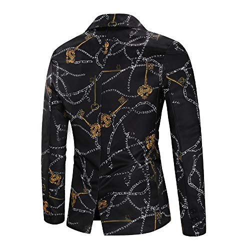 Jacket Cardigan À Suit Printed Américaines Longues Dashiki Manteau Logobeing Blazer For Men Chemises Fashion Manches Noir Point Fd5q0Yx
