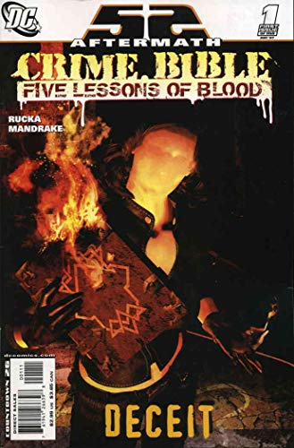 Crime Bible : The Five Lessons #1 VF ; DC comic book