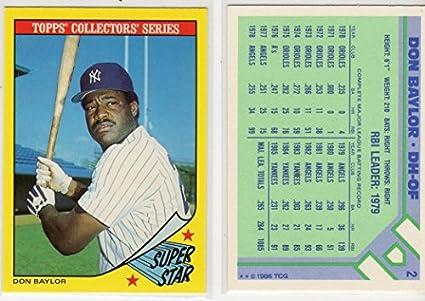 Balls Original Don Baylor Signed Onl Baseball Angels Orioles Yankees 1979 Al Mvp