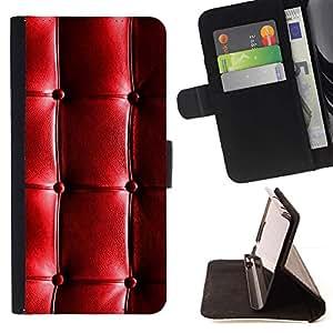 For Sony Xperia Z3 D6603 Case , Cuero del patrón brillante arrugas arrugada- la tarjeta de Crédito Slots PU Funda de cuero Monedero caso cubierta de piel