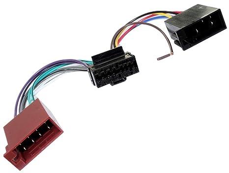 Adapter ISO-Konverter Kabel Radioadapter Radio Kabel Stecker ISO-Kabel Verbindungskabel Aerzetix