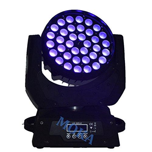 2PCS/Lot Free Shipping,RGBWA+uv 36x18W LED Moving Head Wash Zoom Light,6in1 LED Wash 36*18W Moving Head Light 3circles effect
