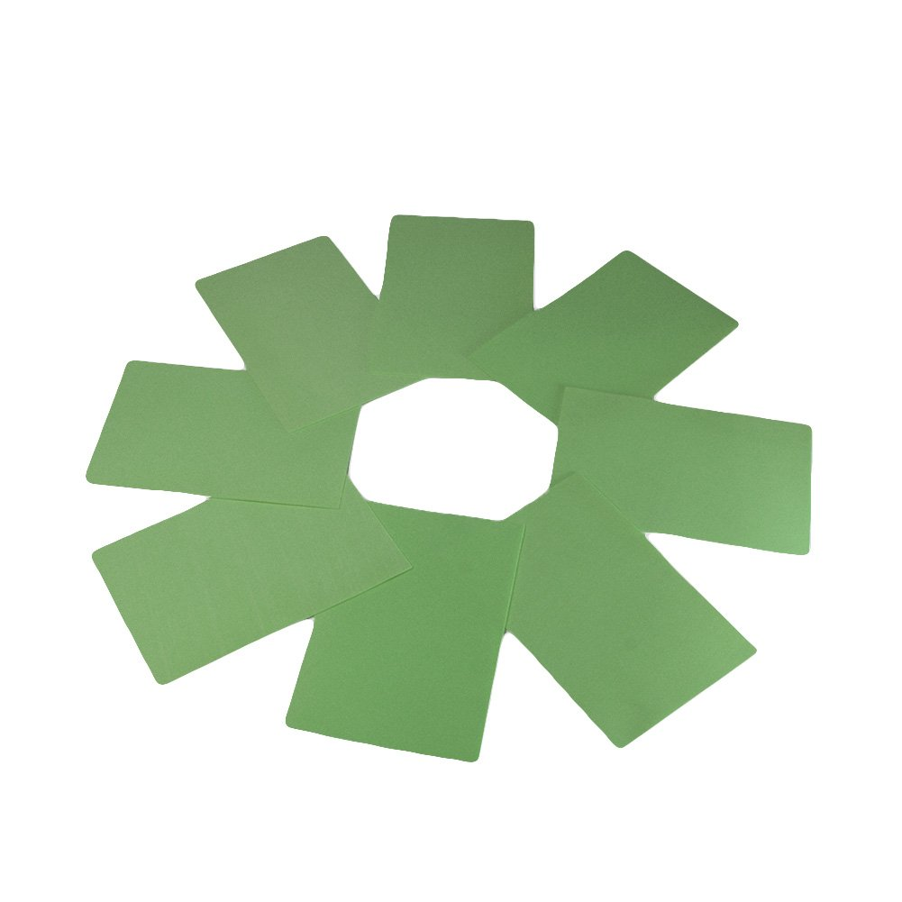 EVA Foam Paper Sheet (50 pcs)-8x12 Inch-2mm Thick A4 Size for Children's Craft Activities DIY Cutters Art-21x30cm (Green) by FLOAT ISLAND (Image #2)