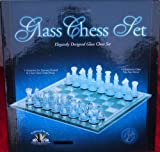 Excalibur Glass Chess Set Eight 11 X 11
