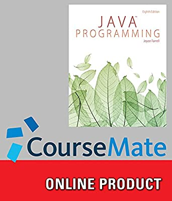 CourseMate for Farrell's Java Programming, 8th Edition