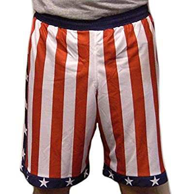 Rocky Balboa / Apollo Creed American Flag USA Shorts