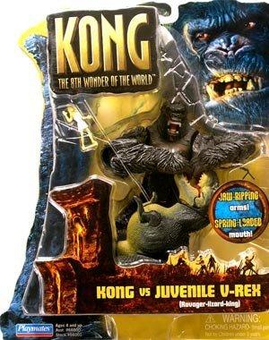 Playmates Toy, Inc Kong Basic Figure: Kong vs. Juvenile V-Rex 6