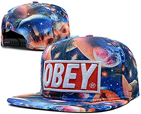 Adaptabilidad jóvenes oro Collection Obey Flex Fit gorra snapback ...