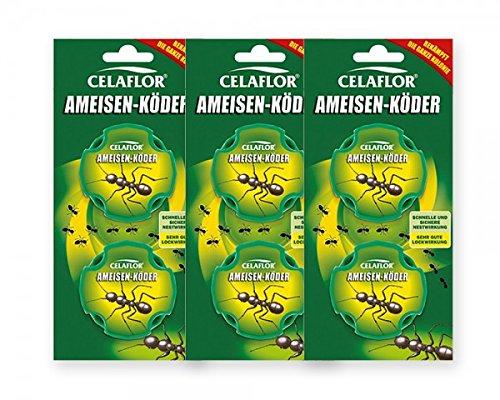 Celaflor Ameisen-Köder Fipronil - 3 x 2 Dosen