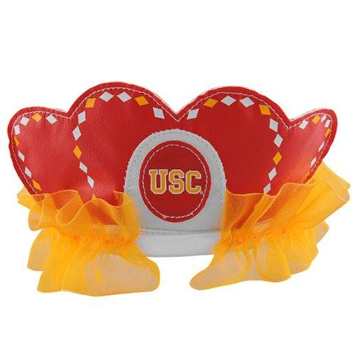 [NCAA USC Trojans Princess Tiara, Red] (Usc Fan Costume)