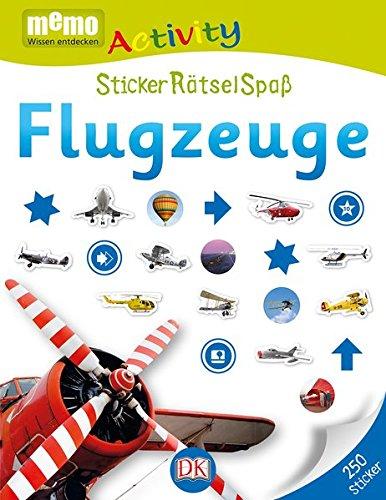 memo Activity. Flugzeuge: StickerRätselSpaß