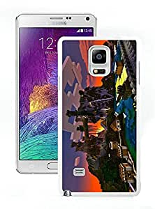 Fashionable and Durable Case Minecraft Game Samsung Galaxy Note 4 N910A N910T N910P N910V N910R4 Case in White 083