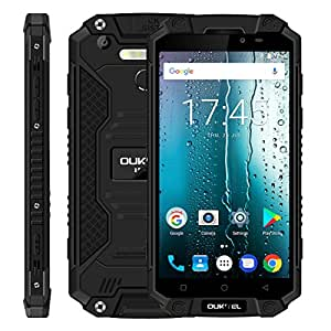 OUKITEL K10000 MAX Triple Proofing Phone 3GB+32GB 10000mAh Battery 5.5 inch Android 7.0 MTK6753 Octa Core up to 1.3GHz WCDMA & GSM & FDD-LTE (Black)