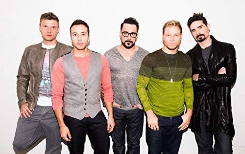 - Gabriela 22inch x 14inch Backstreet Boys Waterproof Poster (Bathroom, Outdoors Wherever You Like)