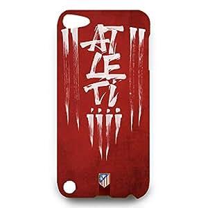 Custom Design FC Atletico De Madrid FC Team Phone Case Cover For Ipod Touch 5Th 3D Plastic Phone Case