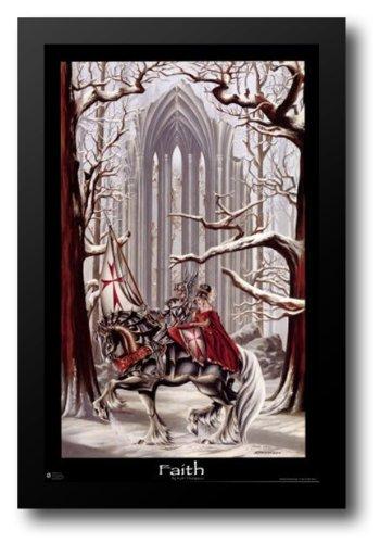 Faith 26x39 Framed Art Print by Thompson, Ruth by ArtDirect