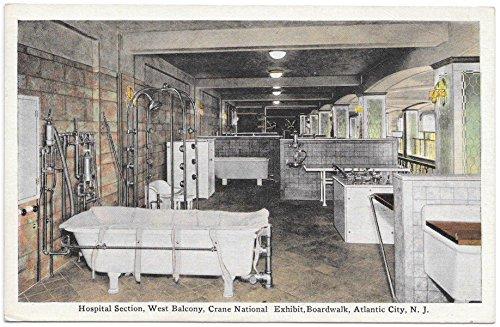 (PC Hospital Section West Balcony Crane National Exhibit Atlantic City, NJ~105258)