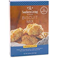 Gourmet Biscuit Mix by Southern Living – Quick & Easy Recipe for Fluffy, Buttery, Golden Biscuits – Cheesy Garlic Biscuit Mix