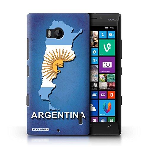 Kobalt® Imprimé Etui / Coque pour Nokia Lumia 930 / Argentine conception / Série Drapeau Pays
