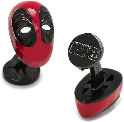 Marvel Comics Deadpool Logo superhéroe Gemelos de plata – Gemelos incluye caja de regalo de Marvel Comics: Amazon.es: Joyería