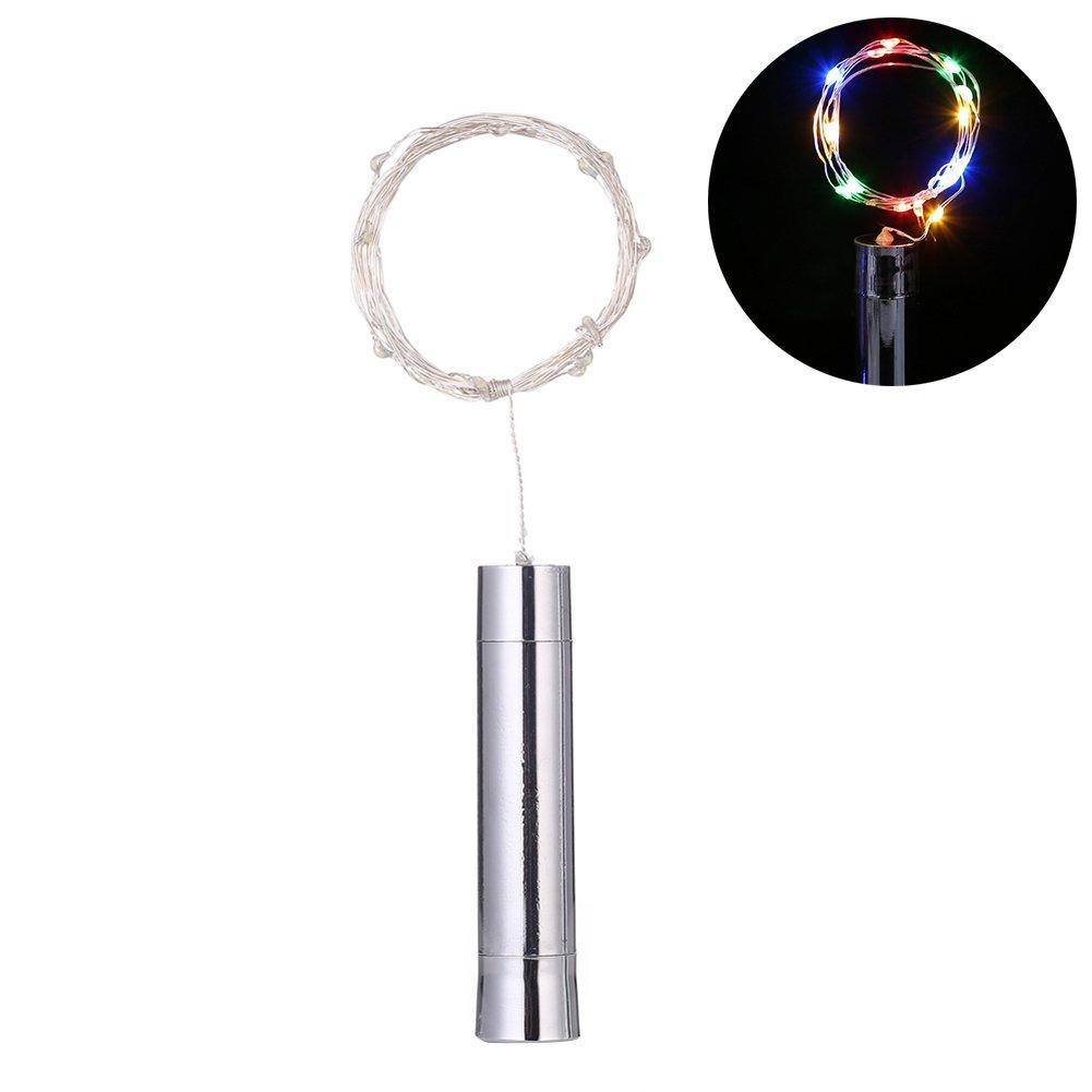 Livecity 15//20LED Wine Bottle Stopper String Light Table Decor for Christmas Wedding Blue