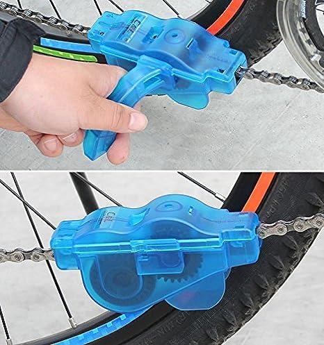 Sin marca Limpiador Cadenas Bicicleta Bici MTB Limpia Herramienta ...