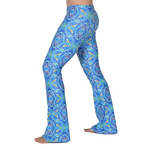 a98dae37b9709 Revolver Fashion Psychedelic Men's Flare Pants: USA Made Flared Bell Bottoms
