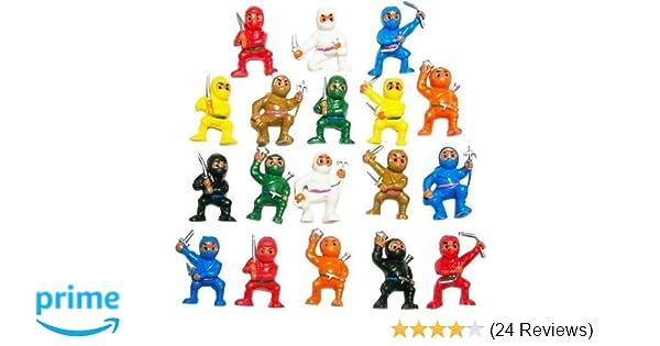 Amazon.com: Mini Karate Toy Figurines Variety Pack of 50 ...