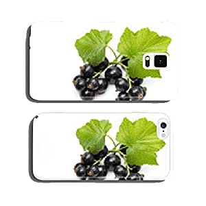 Ribes nigrum (Blackcurrant) fruit and leaves cell phone cover case iPhone6