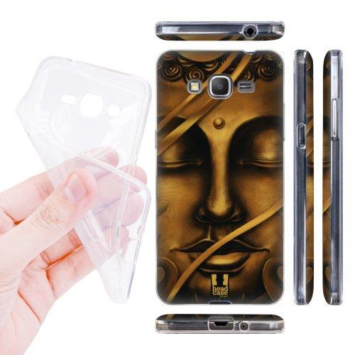 Head Case Designs Golden Buddha of Bangkok Buddha Soft Gel Back Case Cover for Samsung Galaxy Grand Prime 3G 4G Duos LTE G530