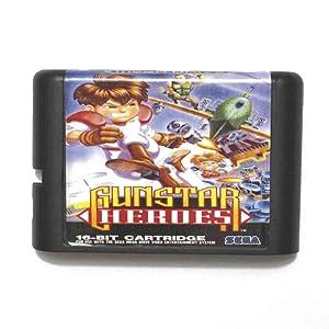 ROMGame Gunstar Heroes 16 Bit Md Game Card For Sega Mega Drive For Genesis