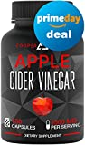 Apple Cider Vinegar Capsules - 150 Capsules 1500 MG - Natural Weight Loss - Healthy Diet - Appetite Suppressant - Detox - Powerful Cleanser Pills - Fat Burners for Men & Women - Metabolism Booster
