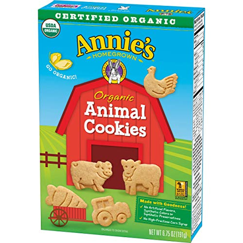 Annies Organic Animal Cookies 6.75 oz