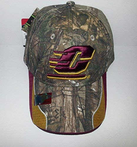Oc. Central Michigan University Chippewas Adjustable Hat 3D Embroidered Cap Central Michigan University Baseball