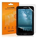 2x kwmobile screen protector MATT and ANTI-GLARE, resistant against finger prints for Samsung Galaxy Tab E Lite 7.0 - PREMIUM QUALITY