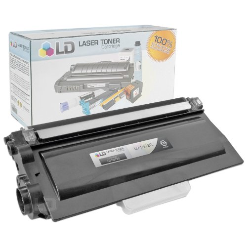 LD © Compatible With Brother TN720 Black Laser Toner Cartridge Compatible With Brother DCP 8110DN, 8150DN, 8155DN, HL 5440D, 5450DN, 5470DW, 5470DWT, 6180DW, 6180DWT, MFC 8510DN, 8710DW, 8810DW, 8910DW Printers