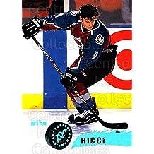 Mike Ricci Hockey Card 1995-96 Stadium Club #71 Mike Ricci