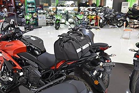 Aventura Impermeable Robusta Bolsa Saco de Equipaje de la Motocicleta Universal Touring Bolsa Saco IP5 60L Ej/ército Verde