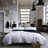 Luxury Bedding Collection Satin 4 Piece Bed Sheet Set Durable Cozy Egyptian Cotton Duvet Cover Flat Sheets Pillowcases Size Full Queen for Upscale Hotel , full
