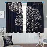 Best Eclipse Home Fashion Thermal Insulated Blackout Curtains Royal Blues - Chaneyhouse Zodiac Thermal Insulating Blackout Curtain Swirling Victorian Review