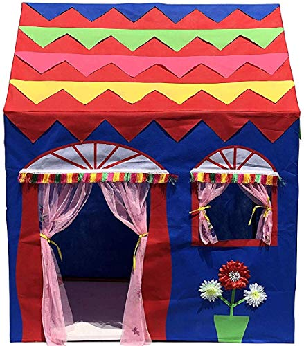 Homecute Hut Type Kids Toys Jumbo Size Play Tent House for Boys and Girls Blue-Red (B07Q3X7ZVM) Amazon Price History, Amazon Price Tracker