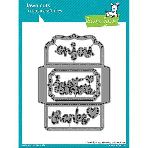 Lawn Cuts Custom Craft Die-small Stitched Envelope