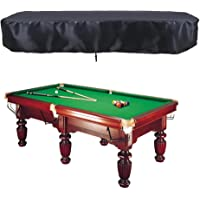 Kyoidy Pool Table Cover Oxford Cloth Full Protection Pool Table Cover with Drawstring,S Outdoor Waterproof Billiard Table Cover
