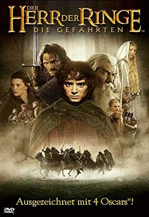 Amazoncom The Lord Of The Rings The Fellowship Of The Ring