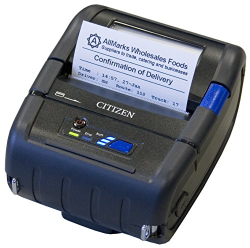 Citizen Receipt Portable Printers - Citizen America CMP-30LBTIU CMP-30 Series Portable Mobile Receipt Printer, 3