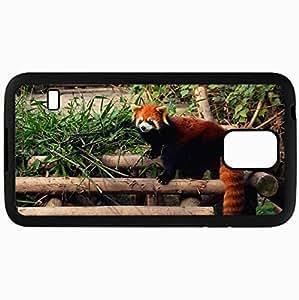 Fashion Unique Design Protective Cellphone Back Cover Case For Samsung GalaxyS5 Case Panda Black