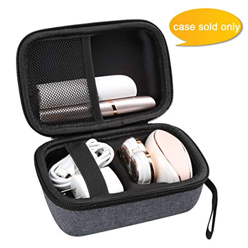 Aproca Hard Travel Case Compatible with Finishing Touch Flawless Legs Women's Hair Remover (Grey)