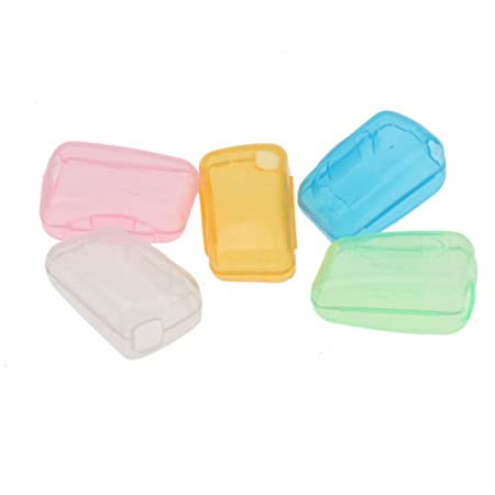 Generic 5pcs/Set Portable Travel Toothbrush Head Cover Case Protective Caps Health Toothbrush Holders at amazon