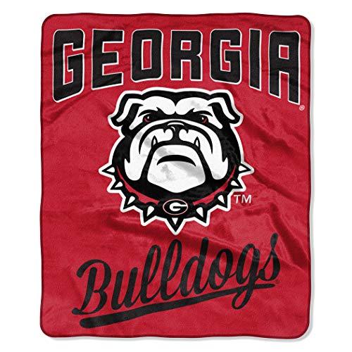 georgia bulldogs couch throw - 7