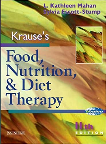 Krauses food nutrition diet therapy 11th edition sylvia krauses food nutrition diet therapy 11th edition sylvia escott stump l kathleen mahan 8580000670783 amazon books fandeluxe Image collections